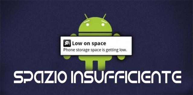 spazio_insufficiente_android